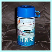 1966 Flipper Metal Thermos No. 2822, by Thermos