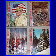 SALE Ten 1945 The American Rifleman Magazines, Marked Over 50% Off