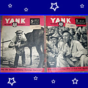 Two 1945 Yank The Army Weekly Magazines, July & August