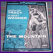 1956 The Mountain Paramount Theater Showmanship Manual, Spencer Tracy
