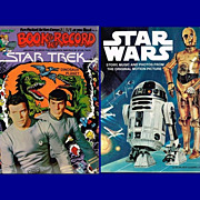 1979 Star Trek & Star Wars Books and Records