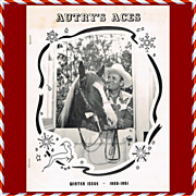 1950-51 Gene Autry Autry's Aces Fan Club Newsletter, Winter Issue