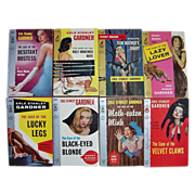 1956 & 1958 Perry Mason Mystery Paperback Novels