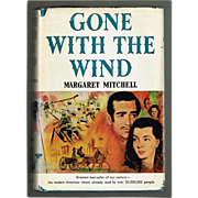 "1964 Hardcover Book ""Gone With The Wind"" Book Club Edition"