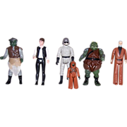 SOLD Six Star Wars Action Figures, Group Two