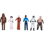 SOLD Six Star Wars Action Figures, Group Three
