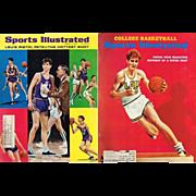Pistol Pete Maravich Cover of 1968-69 Sports Illustrated Magazines