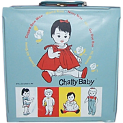 1962 Mattel Chatty Baby Case
