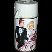 1967 Campus Queen Metal Thermos Bottle
