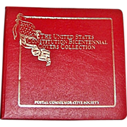 SOLD 1987 The United States Constitution Bicentennial Postal Covers