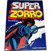 1979 Disney Productions Super Zorro Book in Spanish, First Edition