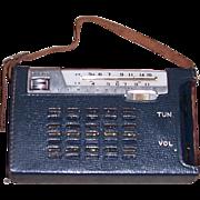 1960's YAOU General 2Band 7 Transistor/Short Wave Portable Radio