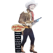 SOLD 1991 Roy Rogers Stand-Up CD Promo Counter Top Display