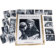 1963 Profile in Courage Tribute to Jacqueline Kennedy & 1964 JFK Topps Trading Cards
