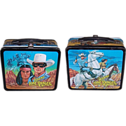 SOLD 1980 The Legend of The Lone Ranger Metal Lunchbox