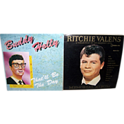 Ritchie Valens Memorial Album & Buddy Holly Russian Album