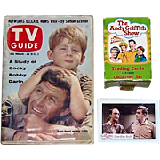 1990 Andy Griffith Trading Cards & Rare 1961 TV Guide