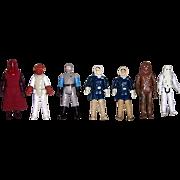 SOLD Seven 1970's & 1980's Star Wars Figures