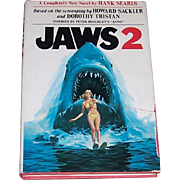 1978 1st Edition Jaws 2 Hardcover Book