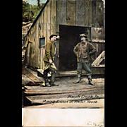 1909 Mauch Chunk, Pa., Coal Mine Postcard