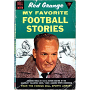 1955 Red Grange--My Favorite Football Stories Book