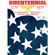 Bicentennial 1776/1976 American History Coloring Book