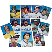 1980 Topps Baseball Superstars Photo Cards (Gray Back)