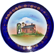 Early 20th Century Jennie Wade House Gettysburg Commemorate Plate