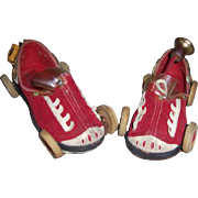 1930's Fun-Timer Child's Fire Truck Shoes