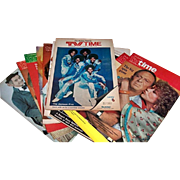 SOLD Thirteen TV Time Programs from the Philadelphia Bulletin, 1970's and 1980's