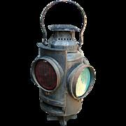 SOLD Adlake Non-Sweating Switch Lamp Railroad Lantern