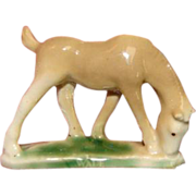 Authentic First Edition Whimsy WADE China Horse Colt Figurine 1950s England Whimsie