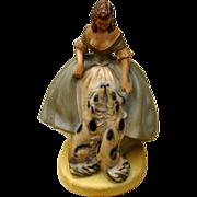 Fabulous Deco Era Chalkware Borzoi Wolfhound Decorator Figurine TV Lamp