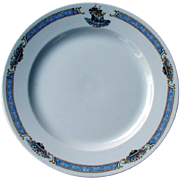 SOLD Lavish Extra Large Mayflower Hotel Restaurant China Dinner or Service Plate by Rosenthal