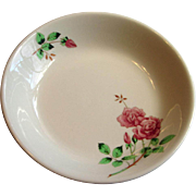 Union Pacific Railroad UPRR Portland Rose China Bowl
