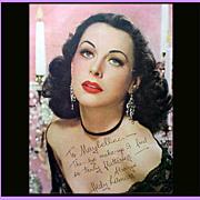 SOLD Vogue Magazine August 1946 Elzac Jewelry Fashion Advertising Carnegie Reja