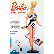 SOLD 1961 - 1962 Toy Catalogue Mattel Barbie Ideal Remco Hubley Lionel Trains 292 Pages