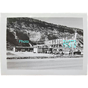 Vintage Black and White Photograph Grant's Truck Stop Boise Idaho