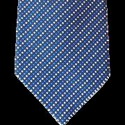 Vintage Ralph Lauren Blue Silk Necktie Unworn Necktie Men's Fashion