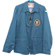 1964 Tokyo Olympic Jacket USA with Patch 18th Olympiad Mint