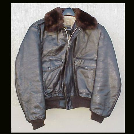 Vintage Usa Men S Jacket Cooper G 1 Leather Flight