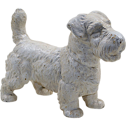 Large Hubley Sealyham Terrier Dog Doorstop