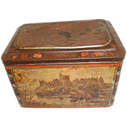 Very Early Colman's Mustard Tin, Windsor Castle