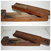 REDUCED Most Unusual Treen (folk art) Pen/Pencil Box