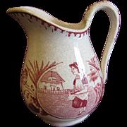 Lovely Creamer Child's Tea Set MISS MAY Allerton England ca 1880