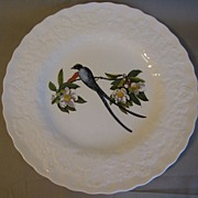 SALE Lovely Vintage Alfred Meakin Bird Dinner Plate, Fork-Tailed FLYCATCHER, #168