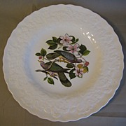 SOLD Lovely Vintage Alfred Meakin Bird Dinner Plate, BAND-TAILED PIGEON, #367