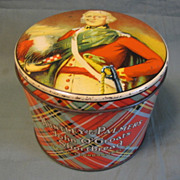 Vintage British Biscuit Tin, Huntley & Palmers, John O'Groats Shortbread