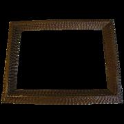 Antique 6-Layer Chip Carved Tramp Art Frame
