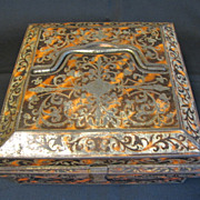 Lovely Huntley & Palmers Biscuit Tin Box 1904 BUHL